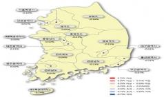 대전 아파트 매매가 상승세 이어져