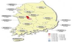 세종 · 대전 아파트 매매/전세가 상승률 전국 1 · 2위