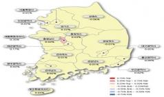 대전 아파트 값 상승폭 축소, 세종은 고공 행진