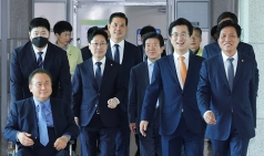 허태정 시장-국회의원 당선인, 대전교도소 이전 등 논의