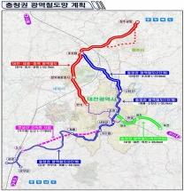 """""""제4차 국가철도망 구축계획""""확정, 대전 중심 중부권 메가시티'한 발 앞으로"""