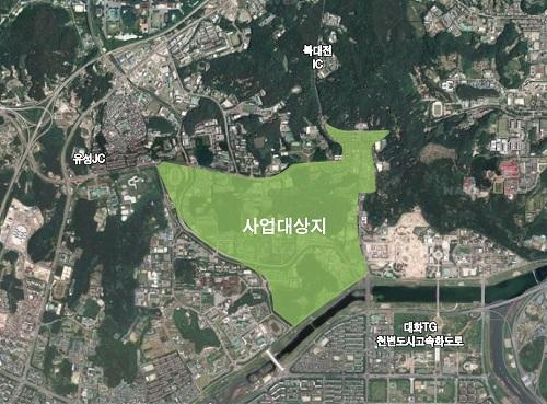 대전시, 테마형 스마트시티 추진기반 '완성'_사업대상지.jpg